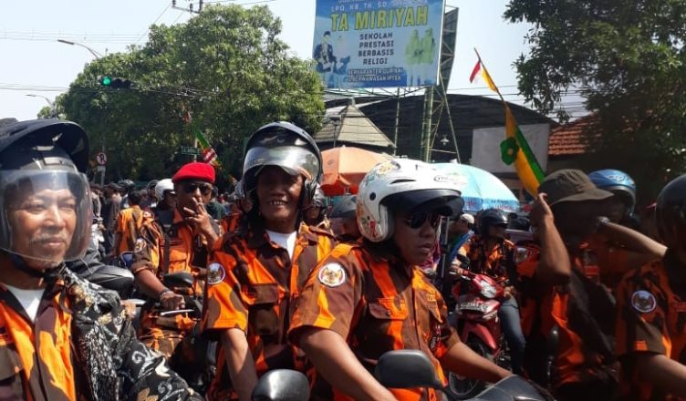 Pemuda Pancasila Kota Suroboyo Hadir Dinginkan Suasana Di Tengah